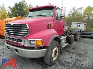 (6) 2002 Sterling LT9500 Roll Off Truck