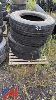 Steer Goodyear Tires, 11R22.5