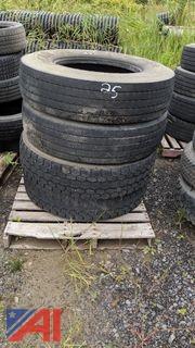 Drive & Steer Tires, 11R22.5
