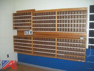 Wooden Mail Slots