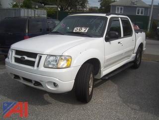 2004 Ford Sport Trac Pickup Truck
