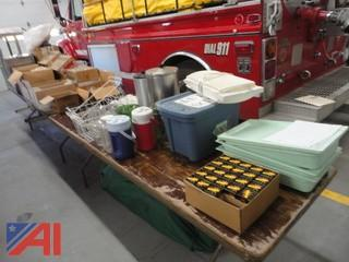 Large Lot of Restaurant Items, Supplies and More
