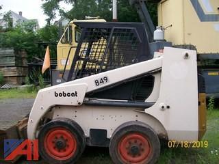 (#849) 1996 Bobcat 853H Skidsteer