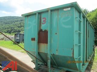 (#3) 40 Yard Garbage Box