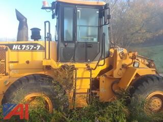 (#895) 2005 Hyundai HL757-7 Wheel Loader