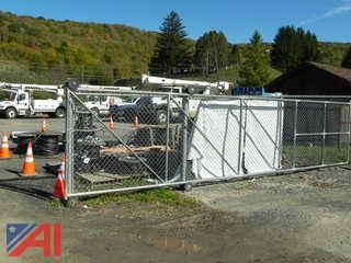 Chain Link Fence and Gate