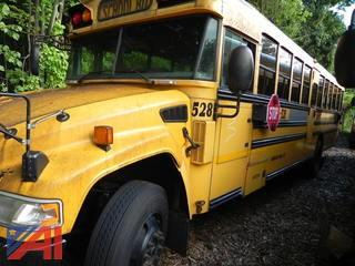 (#528) 2009 Blue Bird Vision School Bus