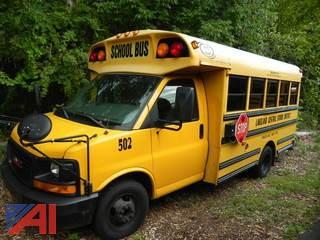 (#502) 2007 GMC Savana G3500 Mini School Bus