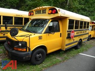 (#503) 2007 GMC Savana G3500 School Bus