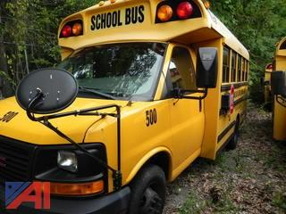 (#500) 2007 GMC Savana G3500 Mini School Bus