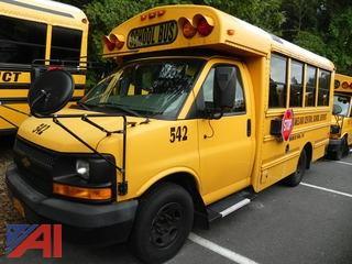 (#542) 2009 Chevy Thomas Express G3500 Mini School Bus