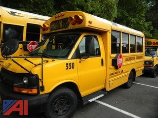 (#550) 2011 Chevy Thomas Express G3500 Mini School Bus