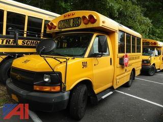 (#541) 2009 Chevy Express G3500 Mini School Bus