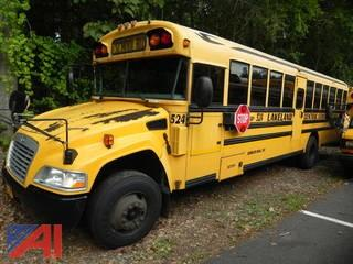 (#524) 2009 Blue Bird Vision School Bus