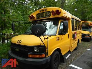 (#531) 2009 Chevy Express G3500 Mini School Bus