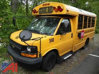 (#540) 2009 Chevy Express G3500 Mini School Bus