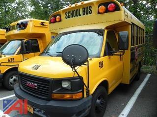 (#498) 2007 GMC Sierra G3500 Mini School Bus with Wheelchair Lift
