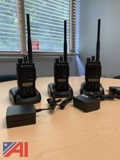 Motorola XPR 3500E Portable Two-Way Radios