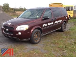 2008 Chevy Uplander LS Mini Van