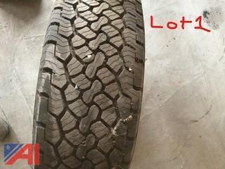 BF Goodrich Tire and Rim