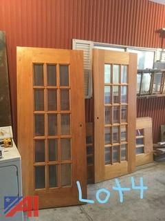 Solid Wood Double Doors