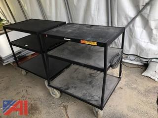 Bretford Metal AV Carts on Wheels