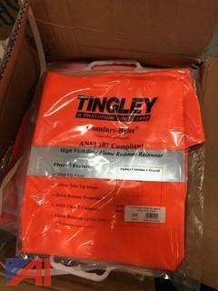 Tingley Comfort Brite Hi Visibility Flame Resistant Rain Coat