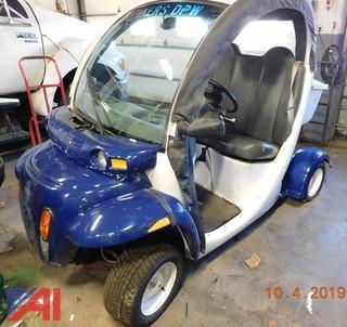 (#899) 2002 GEM LSV 825 Golf Cart