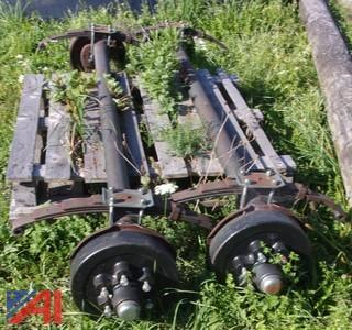 New/Old Stock Trailer Axles