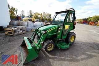 2009 John Deere 2320 Compact Tractor with Loader & Cutting Deck