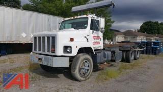1988 International F2674 Roll Off Truck