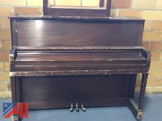 Piano and Miscellaneous School Furniture