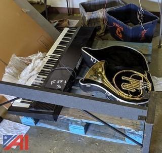 Yamaha Keyboard, Tuba & French Horn