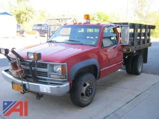 1995 Chevy C/K 3500 Stack Truck