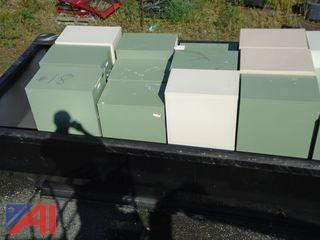 Assortment of Filing Cabinets