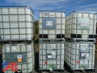 250 Gallon Water Tanks with Cages