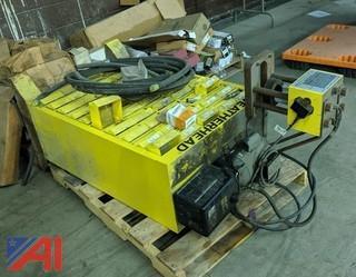Weatherhead Coll-O-Crimp Hydraulic Hose Crimper