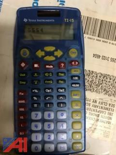 TI 15 Calculators