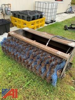"""60"""" Bobcat Sweeper Bucket"""