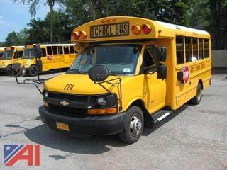 2013 Chevy/Thomas Express G4500 Mini School Bus