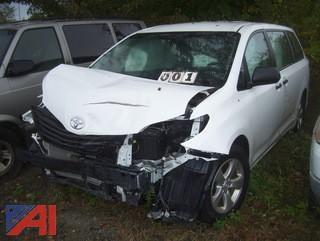 2017 Toyota Sienna Mini Van