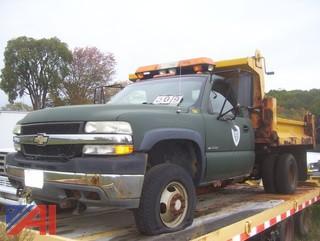 2002 Chevy Silverado 3500 Dump Truck