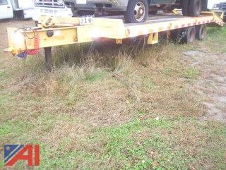 2002 CAM Tag a Long Trailer with Ramps