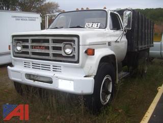 1986 GMC 7000 Stake/Dump Truck