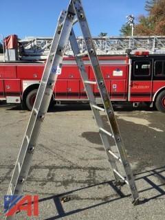 8' Alco-Lite Folding Ladder