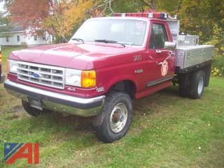1989 Ford F250 Pickup Truck/Emergency Vehicle
