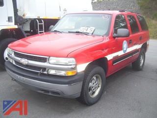 2001 Chevy Tahoe SUV