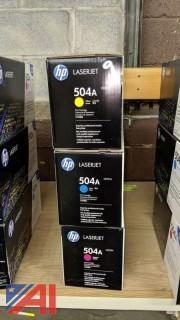 HP LaserJet 504A Toner Cartridges