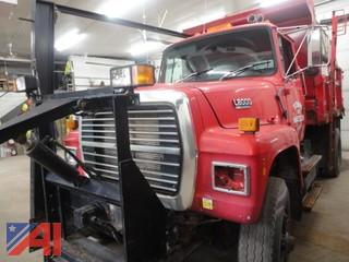 1993 Ford L8000 Dump Truck with Sander