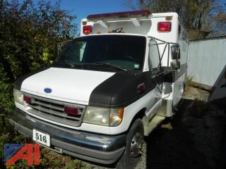 1995 Ford E350 Ambulance